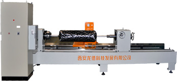 Numerical control fiber(cloth tape)winding machine